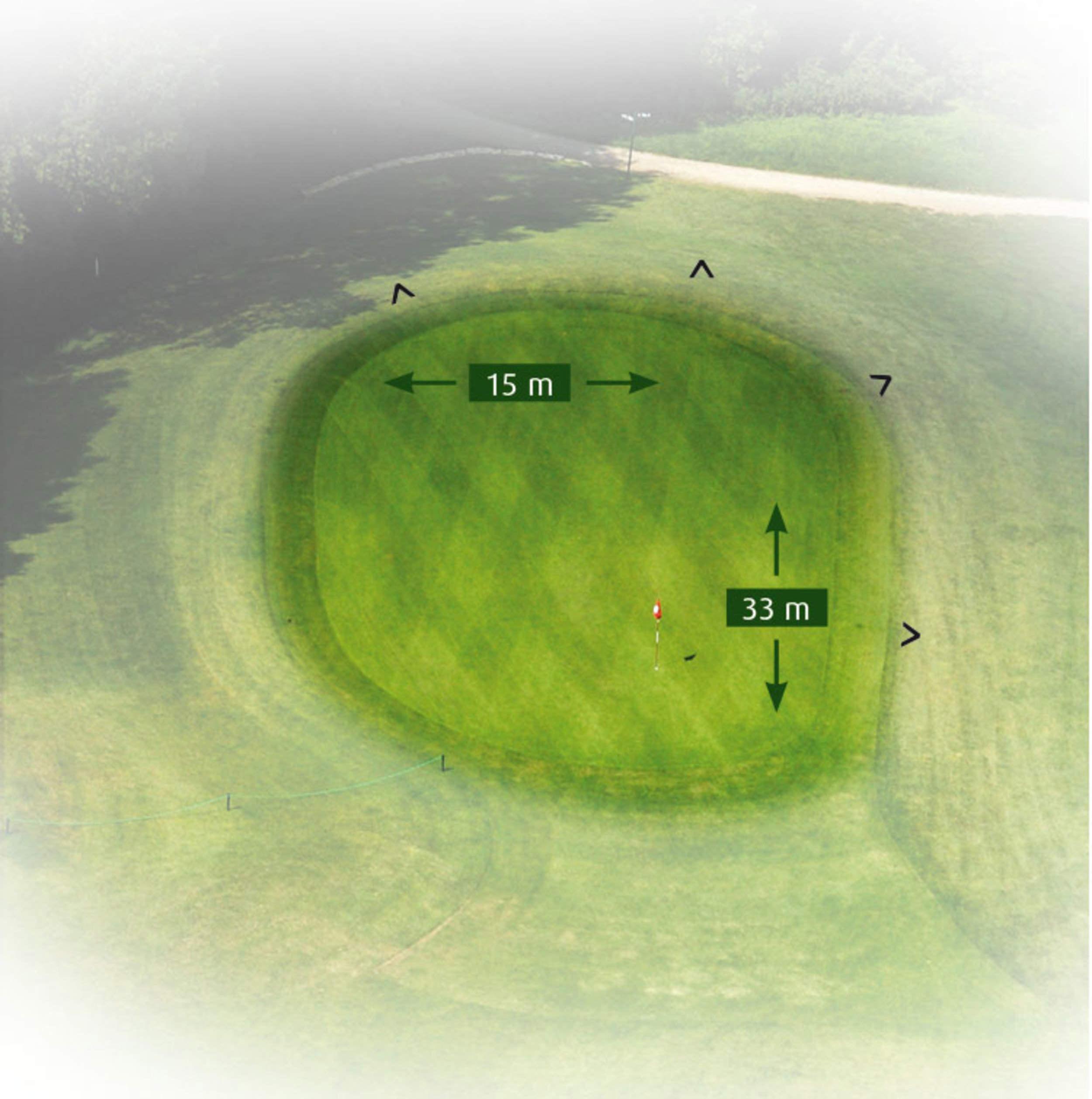18 Loch Course - Bahn 12 - Detailansicht